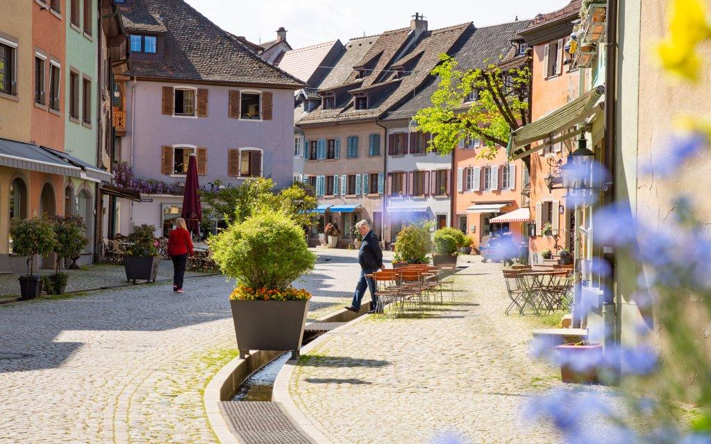 Blick auf die Altstadt von