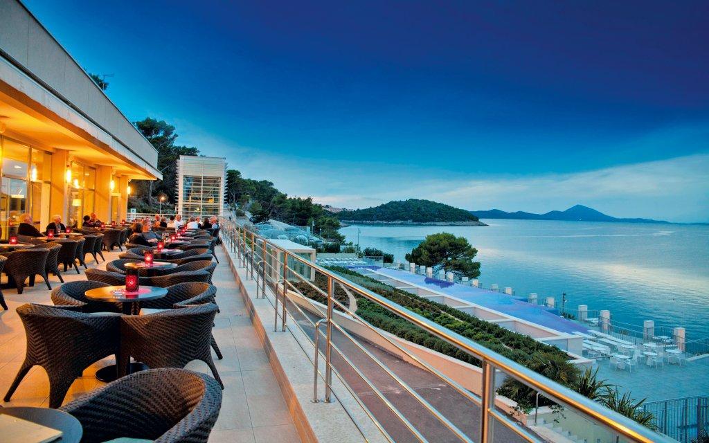 Veli Losinj Vitality Hotel Punta Ausblick Terrasse