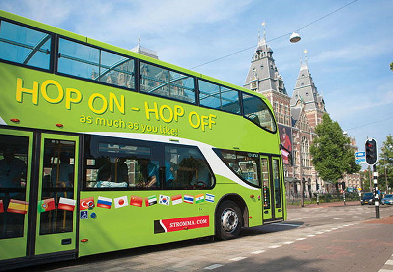 Stromma Hop On-Hop-Off-Bus Amsterdam