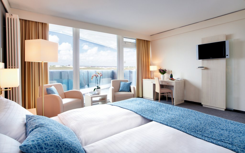ambassador hotel & spa St. Peter-Ording Zimmer Meerblick