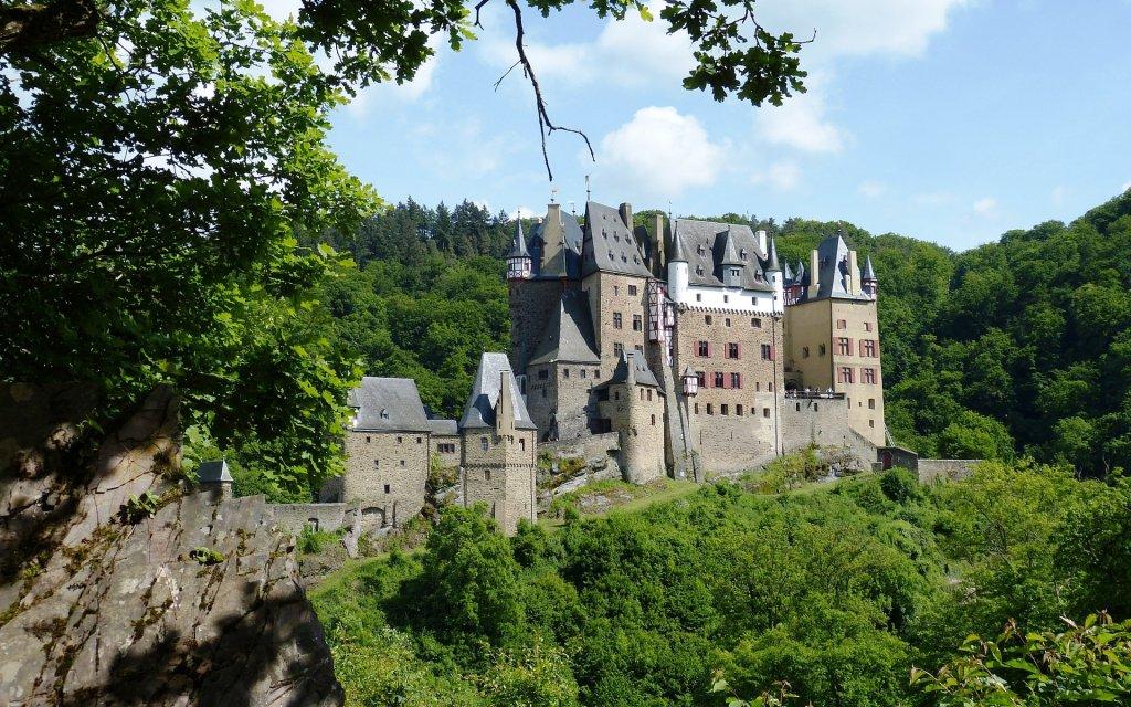 Die mittelalterliche Burg Eltz