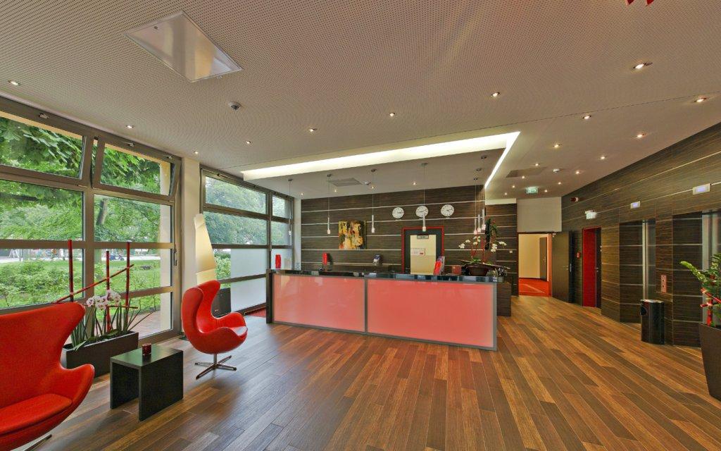 AMEDIA Hotel Hamburg-Moorfleet Lobby Rezeption