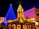 Potsdams Weihnachtsmarkt leuchtet in Blau!