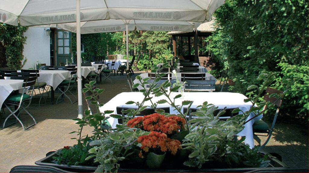 Waldhotel Cottbus Garten Aussen Terrasse