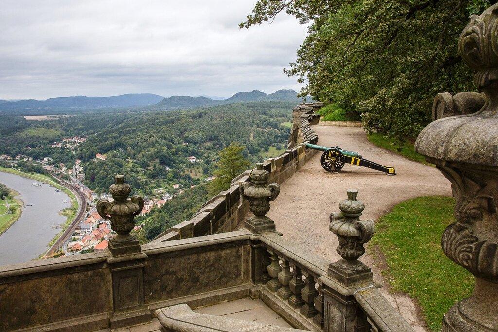 Kanone Festung Königstein c Pixabay
