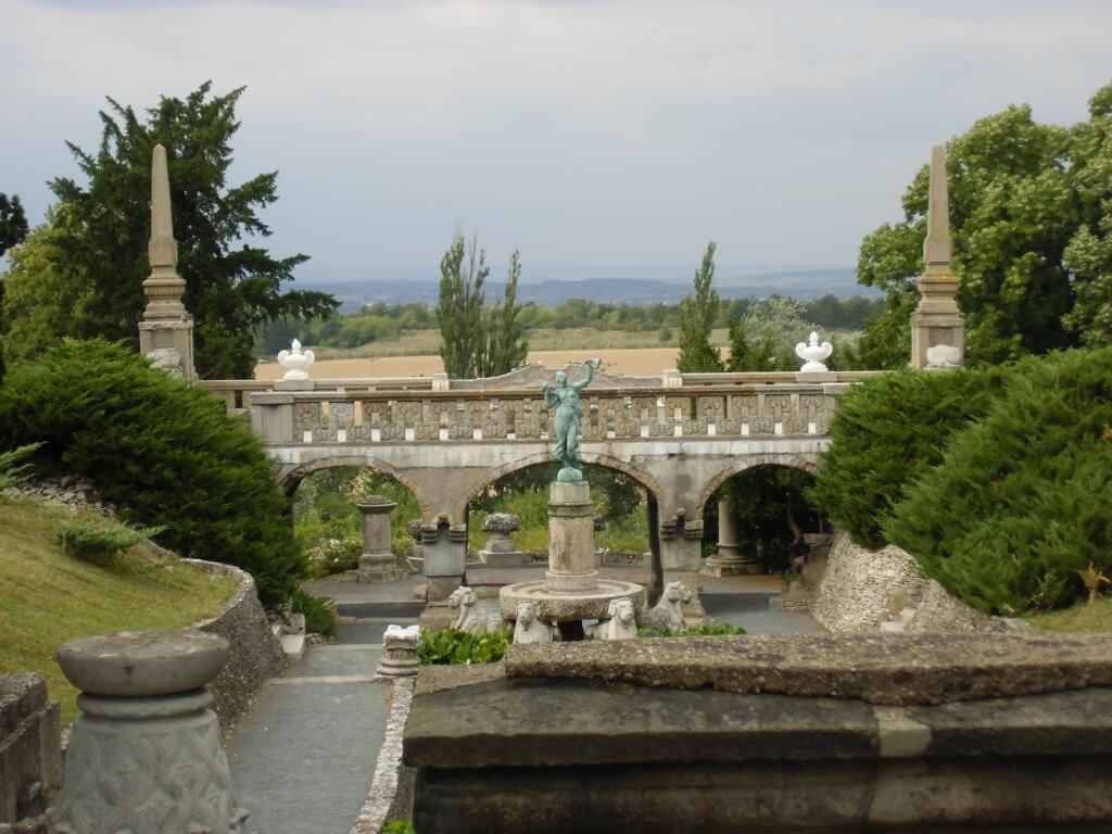 """Roseburg, Die """"Fortuna Gloriosa"""" als krönender Abschluss der Wasserkaskade"""