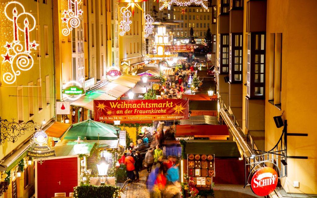 Der Dresdener Weihnachtsmarkt