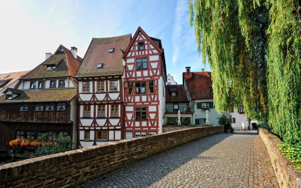 Fachwerkhaus im Fischerviertel in Ulm