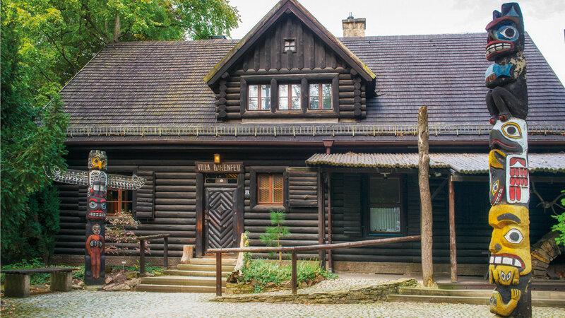Villa Bärenfett im Karl May Museum Radebeul