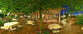 il-giardino-terrace night