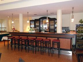 Bar im Restaurant