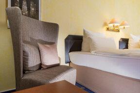 Doppelzimmer Detail Sessel