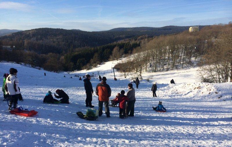 Skigebiet Hasental