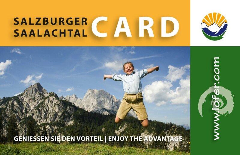 Perfekter Begleiter: die Salzburger Saalachtal Card