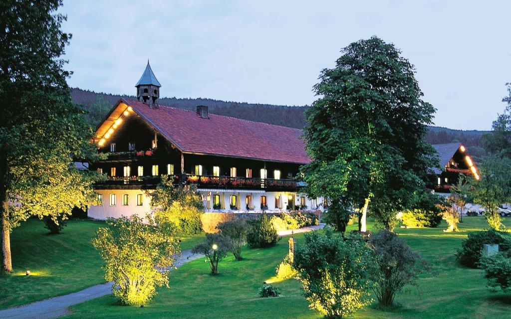 Sankt Englmar Hotel Gut Schmelmerhof Außenansicht