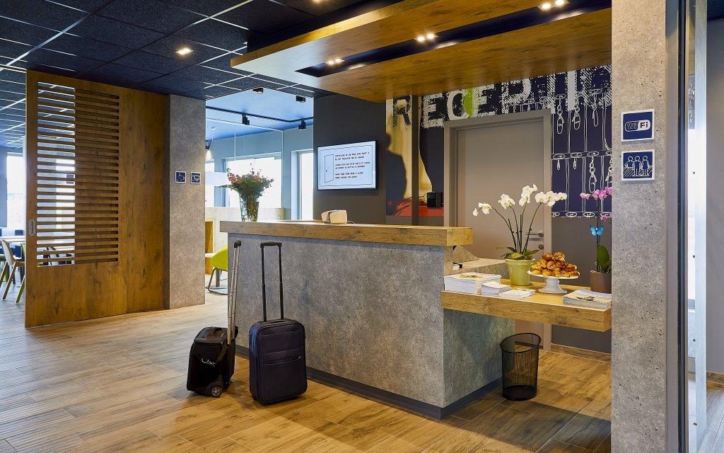 ibis Budget Oostende Airport Rezeption