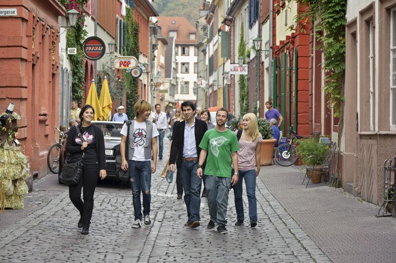 Studenten Untere Strasse C Heidelberg Marketing GmbH