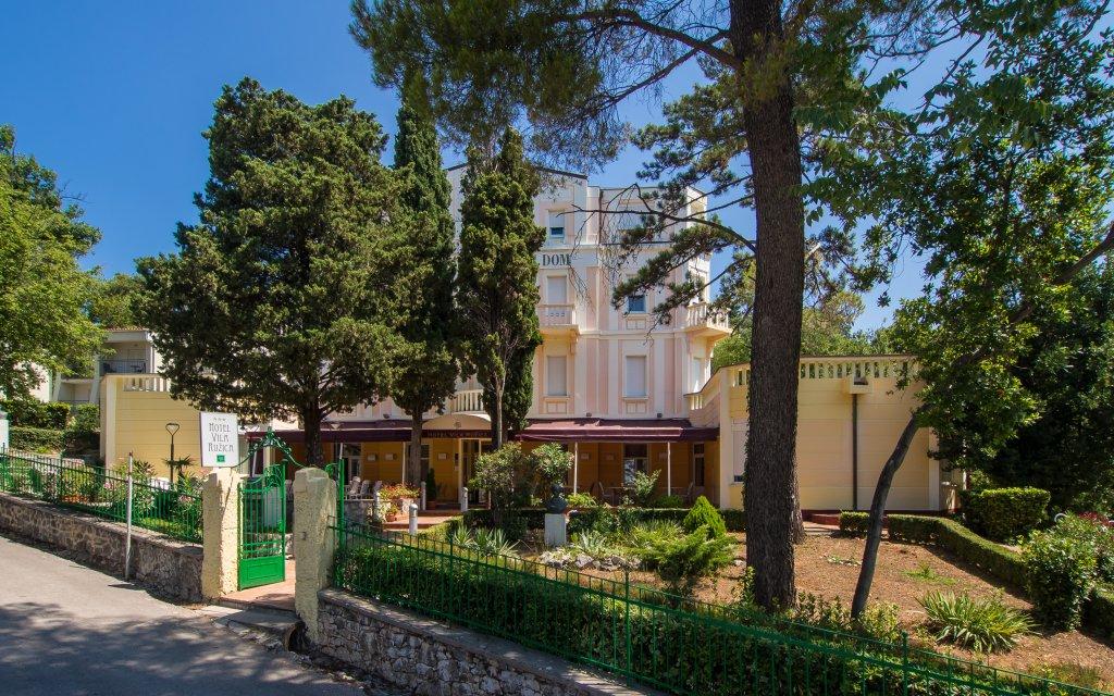 Vila Ruzica außen
