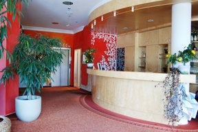 BEST WESTERN Nordic Hotel Ambiente Rezeption