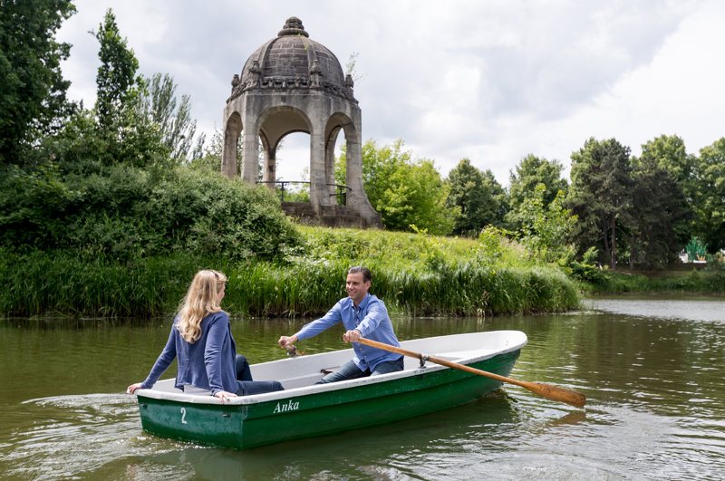 Stadtpark Rotehorn in Madgeburg