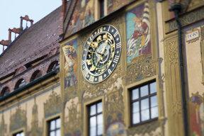 Nahaufnaheme Rathaus Ulm i101139
