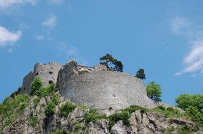 Festung Hohentwiel von unten