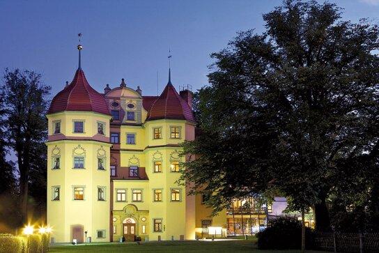 Schloss abends