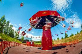 Le Parc du Petit Prince, Karussell chaises volantes