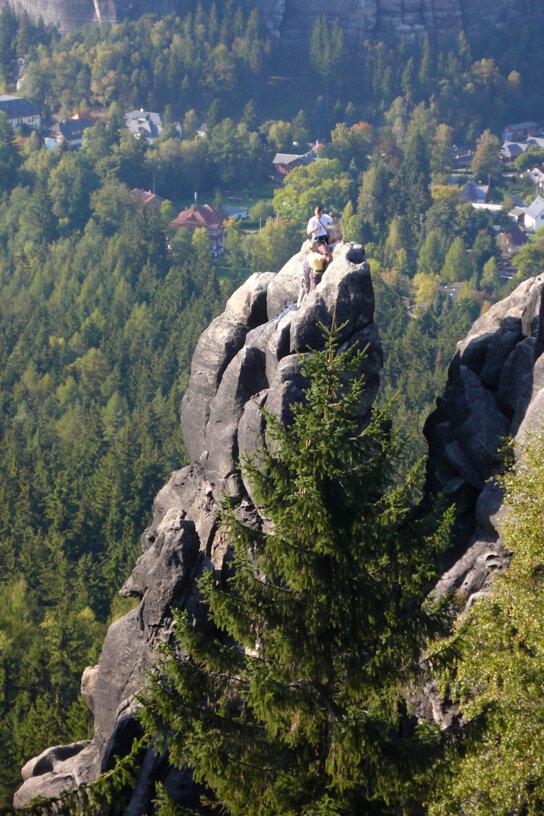 Auf dem Berg c Naturpark Zittauer Gebirge