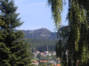 Bodenmais Blick zum Silberberg 02