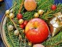 Weihnachten in Karlsbad bei den Kolonnaden