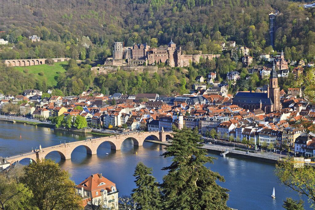 Heidelberger Schloss und Alte Brücke