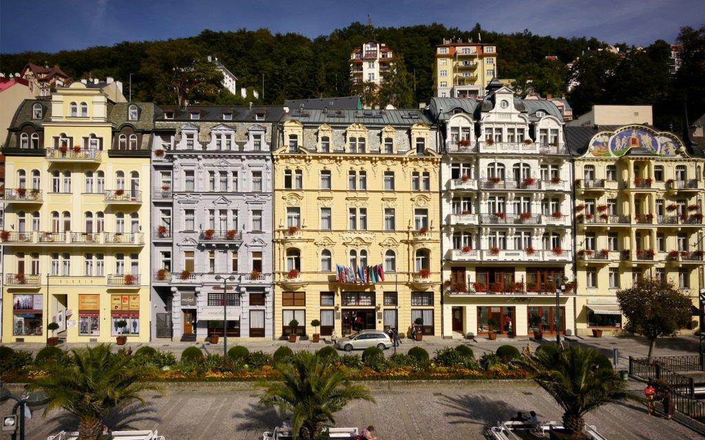 Astoria Hotel & Medical Spa Karlsbad Außenansicht