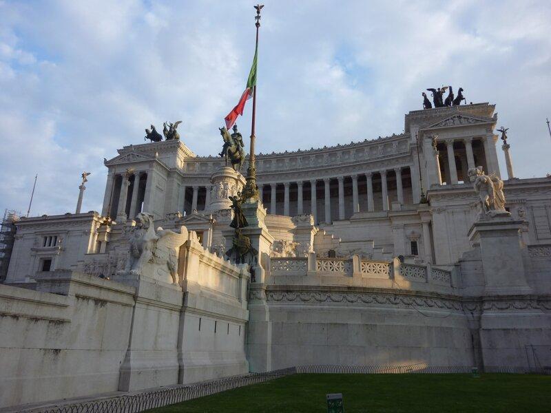 Monumento a Vittorio Emanuele II mit Reiterstandbild