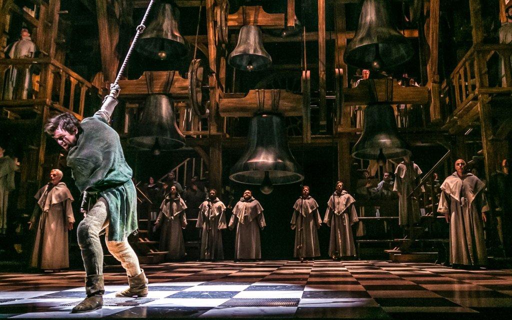 Quasimodo im Glöckner von Notre Dame Musical