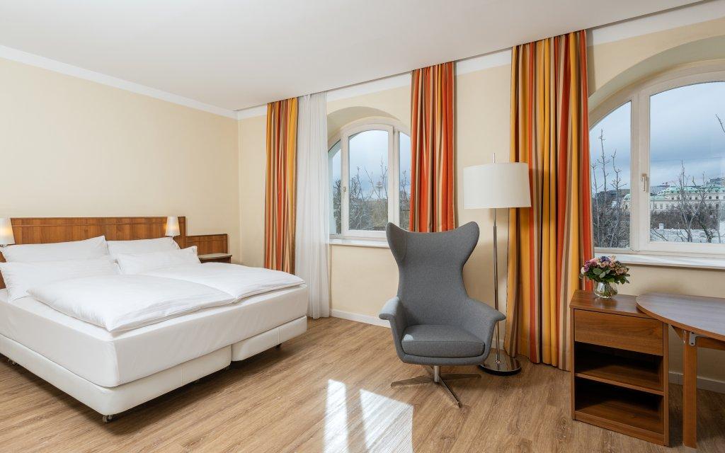 NH Wien Belvedere Zimmer Doppelzimmer