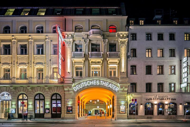 Deutsches Theater München von außen