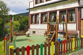 Kinderspielplatz Hotel Start
