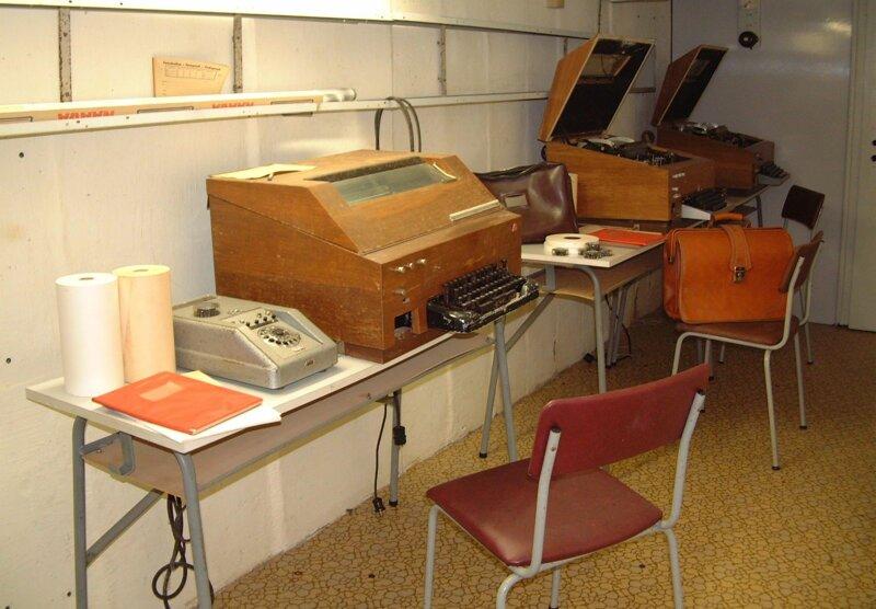 Bunkermuseum Nachrichtenzentrale