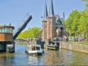 Mit dem Hausboot über Hollands Wasserwege