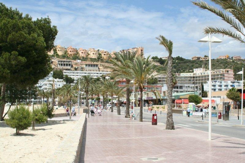 Boulevard Santa Ponsa Mallorca