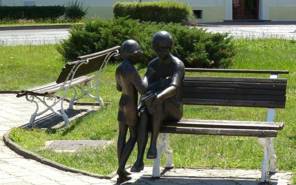 Statue in Nový Bor