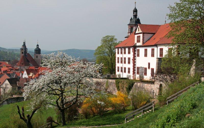 Schloss Wilhelmsburg Außenansicht