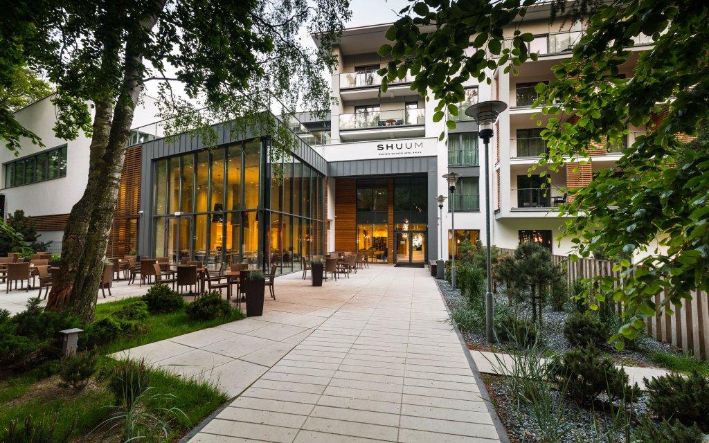 Kolberg Shuum Boutique Wellness Hotel Eingang aussen