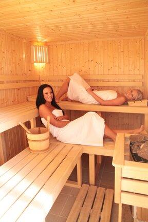Sauna mit Gaesten 2