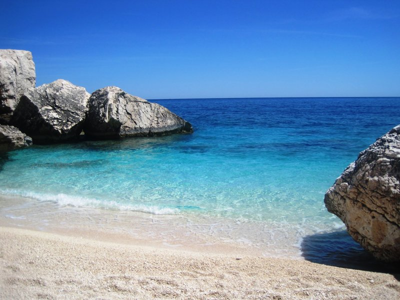 Strandbild Sardinien