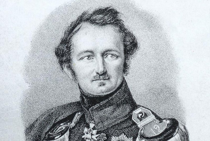 Portait Fürst Pückler