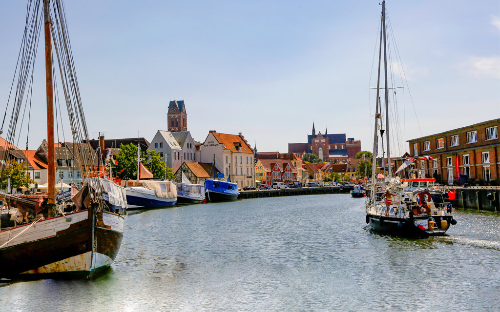 Hafen in Wismar