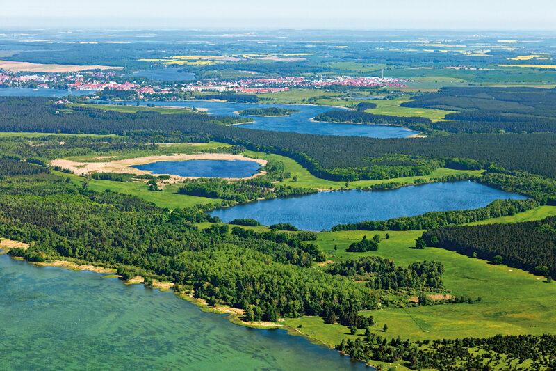 Luftaufnahme Müritz-Nationalpark