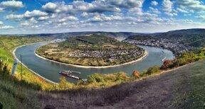 Rheinschleife - Panorama